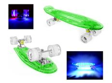 Pennyboard FISH F7 FULL LED 56 cm green