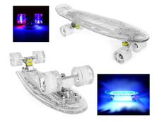 Pennyboard FISH F7 FULL LED 56 cm white