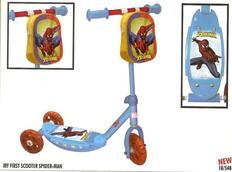 Koloběžka Spiderman - Modrá