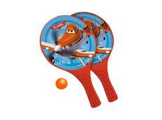 Plážový tenis LETADLA, oranžová velikost rakety 37x22,5cm