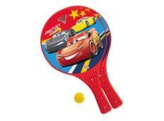 Plážový Tenis CARS (Auta) červená, velikost rakety 37x22,5cm