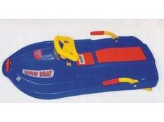 Boby říditelné Snow Boat - modré