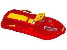 Boby s volantem Snow Boat - červené