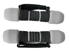 Činka aerobic SOFT 2x1 kg šedo/černé