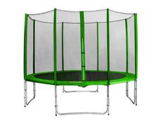 Trampolína MAX JUMP zelená - 366 cm + síť v ceně