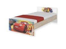 Dětská postel MAX Disney - AUTA 180x90 cm - BEZ ŠUPLÍKU