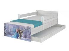 Dětská postel MAX Disney - FROZEN II 160x80 cm - SE ŠUPLÍKEM