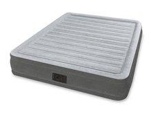 Nafukovací postel COMFORT PLUSH šedá