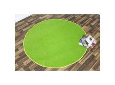 Kusový koberec Nasty - zelený kulatý