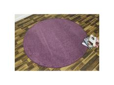 Kusový koberec Nasty - fialový kulatý