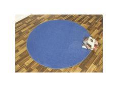 Kusový koberec Nasty - modrý kulatý