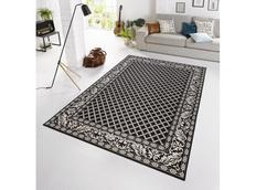 Kusový koberec BOTANY Royal - černý