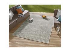 Kusový koberec Meadow Raut - šedý