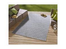 Kusový koberec Meadow - Karo modrý
