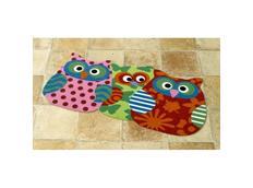 Kusový koberec Sovy - multicolor