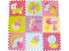 Pěnové puzzle - barevné obrázky