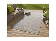 Kusový koberec Meadow Karo - šedý