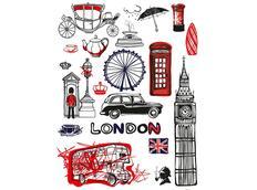 Designová samolepka LONDÝN