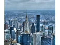 Designový závěs PANORAMA NEW YORKU