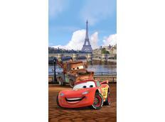 Dětský závěs DISNEY AUTA V PAŘÍŽI