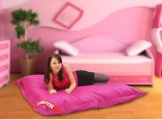 Sedací pytel PERFECT růžový - 179x140 cm