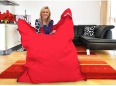 Sedací pytel PERFECT červený - 179x140 cm