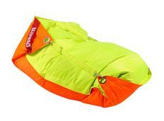 Sedací pytel DUO oranžová+limetková fluo - 189x140 cm