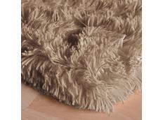 Plyšový dětský koberec MAX ZLATÝ