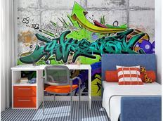 Tapeta graffiti II. - 350x245 cm