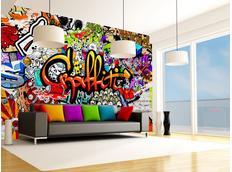 Tapeta graffiti III. - 350x245 cm