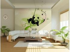 Tapeta panda - 250x193 cm