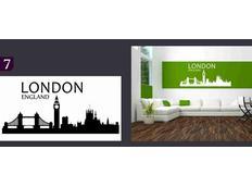 Samolepky na zeď MĚSTA color - LONDON