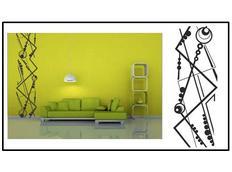Samolepky na zeď BORDURA COLOR - vzor 6