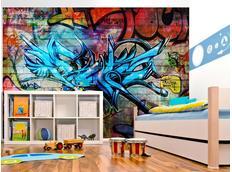 Tapeta graffiti VI. - 350x245 cm