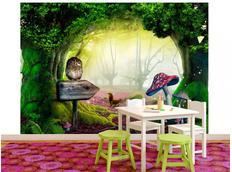 Tapeta kouzelný les - 150x105 cm
