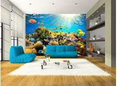 Tapeta podmořský svět - 300x210 cm