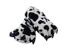 Plyšové papuče KIGU - dalmatin