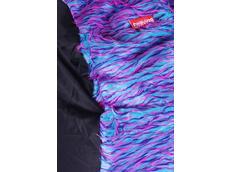Sedací vak Shaggy Multicolor - růžová-fialová-modrá