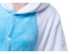 Overal KIGURUMI - jednorožec modrobílý