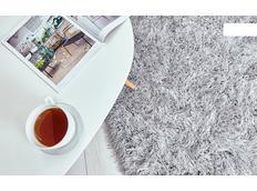 Kusový koberec Shaggy MAX inspiration - šedý