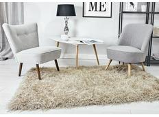 Kusový koberec Shaggy MAX inspiration - světle béžový