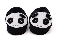 Plyšové papuče KIGU - panda