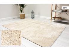 Kusový koberec Shaggy MAX velvet - ecru
