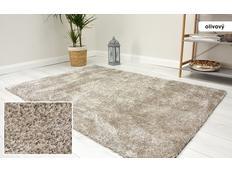 Kusový koberec Shaggy MAX velvet - olivový