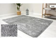 Kusový koberec Shaggy MAX velvet - šedý