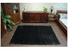 Kusový koberec SHAGGY NARIN black melon