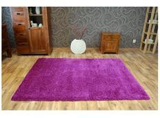 Kusový koberec SHAGGY NARIN fialový