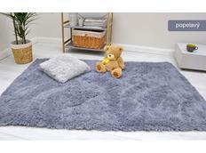 Dětský plyšový koberec MAX POPELAVÝ