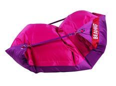 Sedací pytel DUO růžová+fialová - 189x140 cm