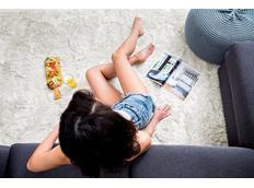 Dětský plyšový koberec BÉŽOVÝ